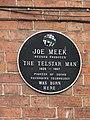 Joe Meek born place plaque, Newent, England.jpg