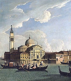 Johan Richter (painter) - View of San Giorgio Maggiore by Richter.