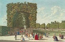 Von Joseph den Wienern geöffnet: Der Augarten (Johann Andreas Ziegler, 1783) (Quelle: Wikimedia)