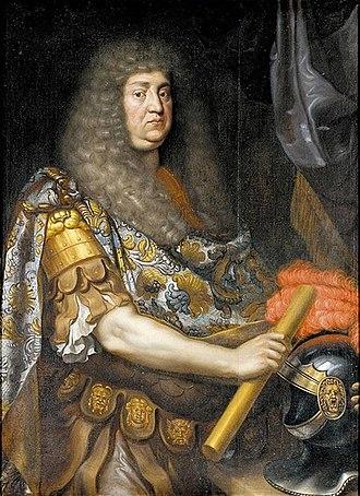 John Frederick, Duke of Brunswick-Lüneburg - John Frederick, c. 1675, by Johann Hulsman