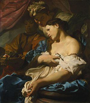 Johann Liss - Image: Johann Liss Death of Cleopatra