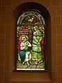 Johanneskirche Freiburg - Glasfenster - Petrus als Christusverleugner.jpg