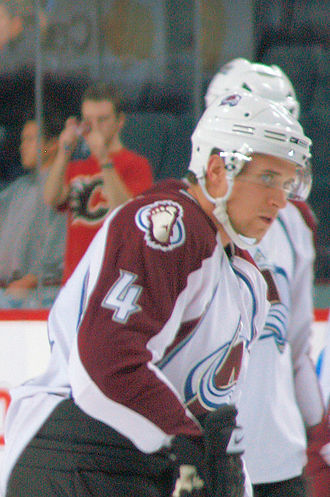 John-Michael Liles - Liles with the Avalanche in 2007.