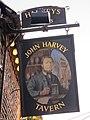 John Harvey Tavern sign - geograph.org.uk - 2293609.jpg