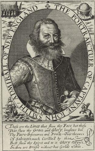 John Smith after Simon De Passe