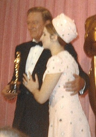 42nd Academy Awards - Barbra Streisand presented John Wayne with his the Best Actor Oscar for True Grit
