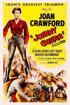 Johnny Guitar - Original theatrical poster