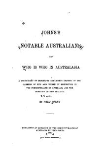 Johns's notable Australians 1908.djvu