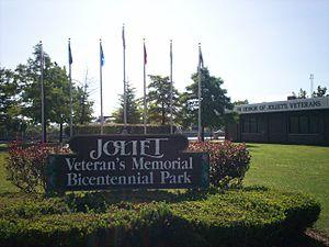 Joliet, Illinois - Joliet Veteran's Memorial Bicentennial Park