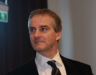 Labour Party (Norway) - Jonas Gahr Støre, the present party leader