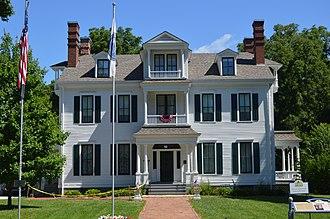 Joseph Duncan (politician) - Duncan's house in Jacksonville