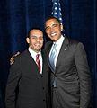 Juan Verde with President Barack Obama.jpg