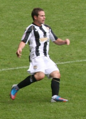 Alan Judge (Irish footballer) - Judge playing for Notts County in 2012.