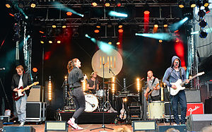 Juli (band) - Juli performing in 2015