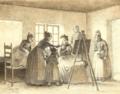 Julius Exner - Kunstnerens færdige resultat beundres af familien - 1899.png