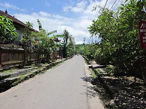 Nusa Lembongan - Jungut Batu village in Nusa Lembongan