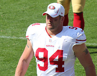 Justin Smith (defensive end) American football player, linebacker, defensive end