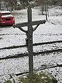 Kříž v zahradě domu na západním okraji Obrnic (Q78790359) 01.jpg