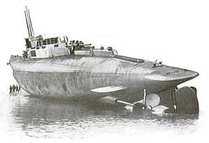 HMS K4 - Image: K Boat Launch