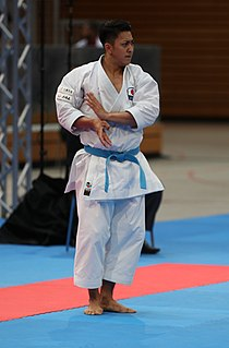 Ryo Kiyuna Japanese karateka