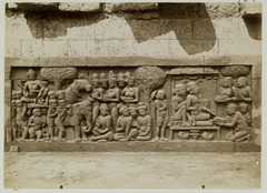 KITLV 27987 - Kassian Céphas - Relief of the hidden base of Borobudur - 1890-1891.tif