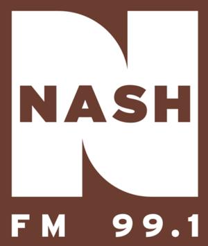 KXKC - Image: KXKC (Nash FM 99.1) logo