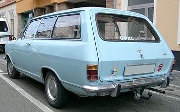 Opel kadett b wikiwand rear view of opel kadett b 3 door caravan kombi 1965 sciox Choice Image