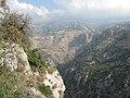 Kadisha Valley from Hadchit cliffs, Lebanon.jpg