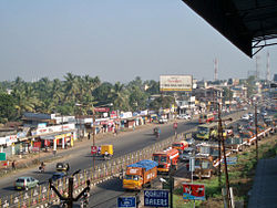 National Highway 47 passing through Kalamassery