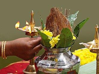 Kalasha - Worship of a Kalasha