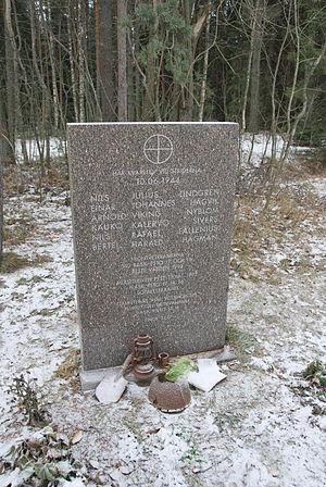 Vyborg–Petrozavodsk Offensive - Memorial in Kalelovo