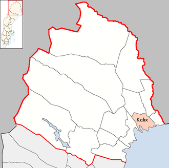 Kalix Municipality - Image: Kalix Municipality in Norrbotten County