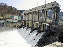 Kamigo Dam left view.jpg