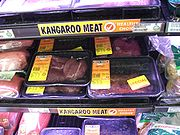 Klokaní maso v supermarketu