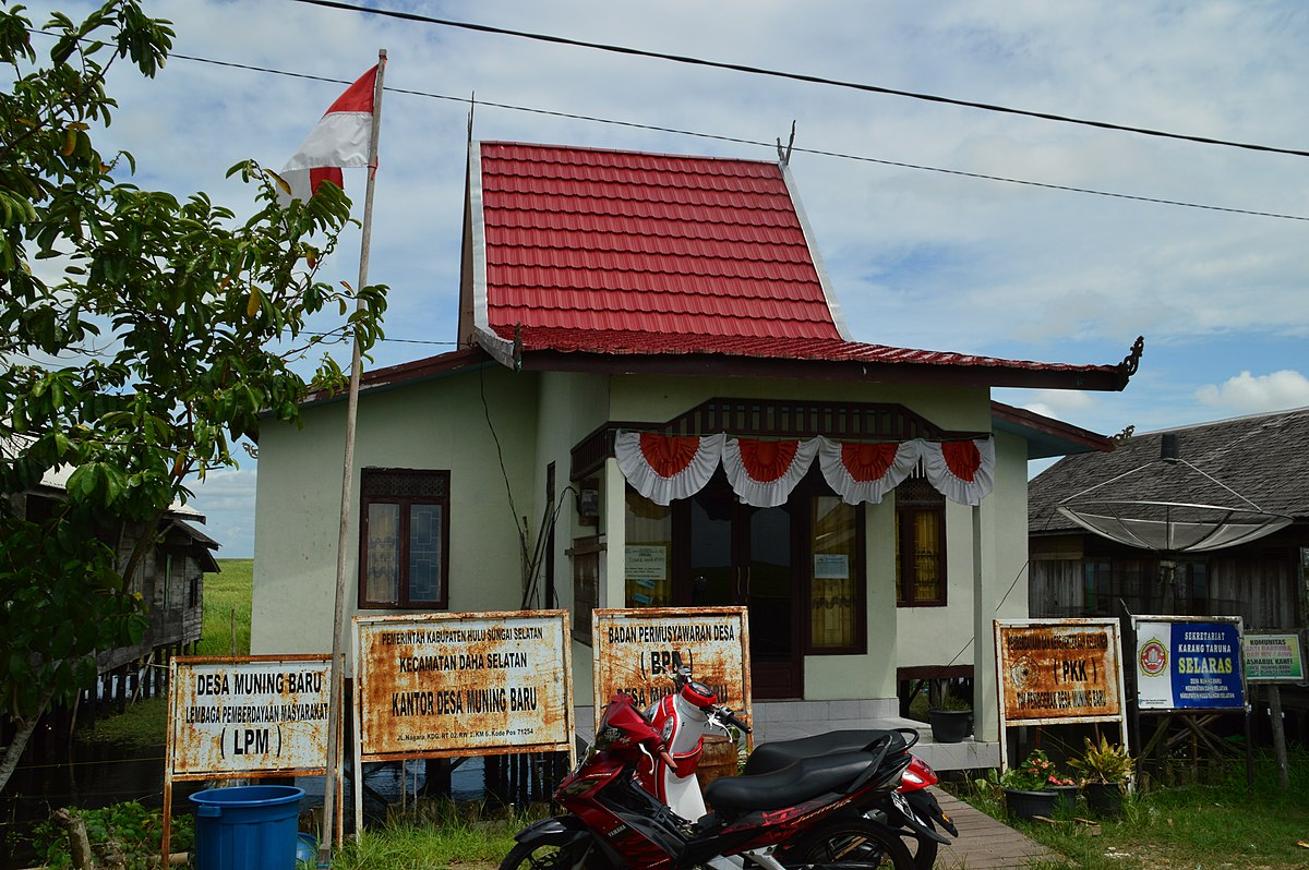 Muning Baru, Daha Selatan, Hulu Sungai Selatan - Wikipedia