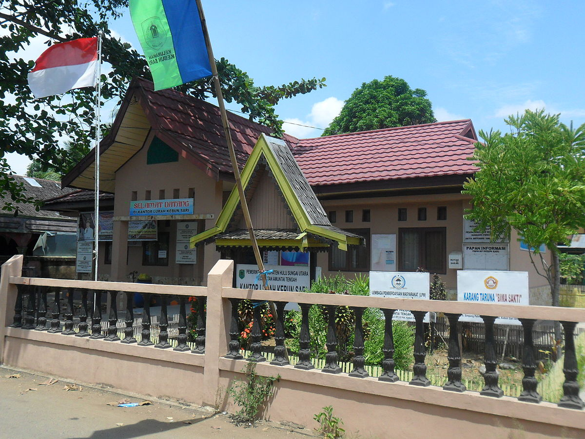Kebun Sari, Amuntai Tengah, Hulu Sungai Utara - Wikipedia
