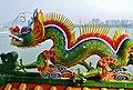 Kaohsiung Lotus Pond Tiger- & Drachenpagode Dach Drachen 4.jpg
