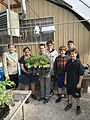Kaptur with students at the St. John's Urban Ag Center (34539202886).jpg