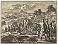 Karavaan der Israëlieten trekt onder Ezra naar Jerusalem, RP-P-OB-45.937.jpg