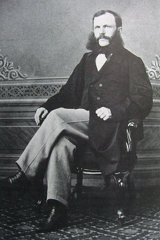 National Archives of Finland - Karl August Bomansson, State Archivist in 1880–1883.
