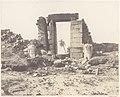 Karnak (Thèbes), Premier Pylône - Ruines de la Porte et des Colosses, Vues du Point E MET DP71384.jpg