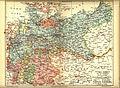 Karta över Tyska riket 1914, före första världskriget (ur Nordisk familjebok).jpg