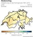 Karte der mittleren Schätzung Abweichung des Niederschlags in der Schweiz bzgl. Normperiode 1981-2010 für das Jahr 2085 und für das Klimaszenario RCP2.6.pdf