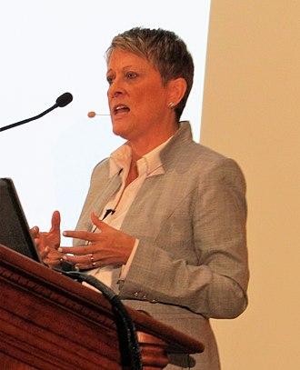 Kathryn Edin - Kathryn Edin speaking at Brigham Young University.