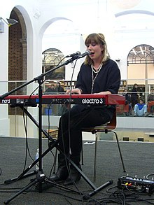 Katie Stelmanis performing in 2009