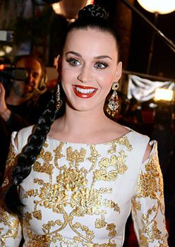 Katy Perry ai NRJ Music Award a Cannes, il 14 dicembre 2013