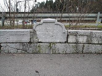 Kavšek Bridge - Image: Kavsek Bridge Ljubljana Slovenia north side