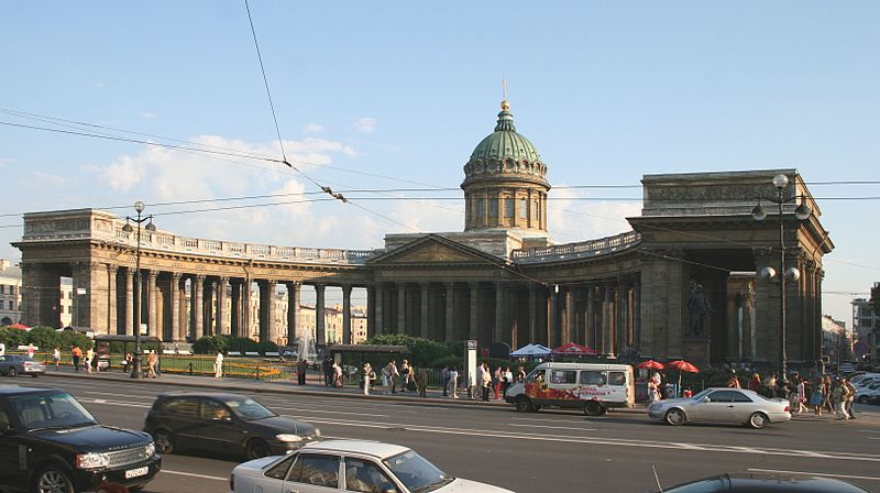 Казанский собор - храм русской воинской славы.  Летом 1812 года, перед выездом в действующую армию...