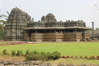 Kedareshvara Temple, Balligavi - Profile of Kedareshvara temple at Balligavi