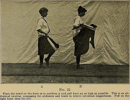 Keeping physically fit; common-sense exercises for the whole family (1916) (14781288302)